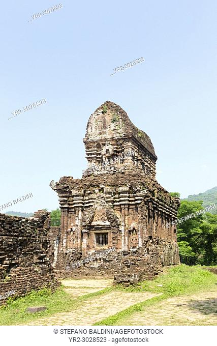 Cham temple ruins, group B, My Son, near Hoi An, Vietnam