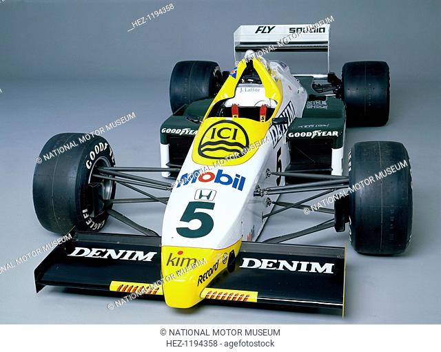 A 1984 Williams FW09B. As driven by Jacques Laffite throughout the 1984 season. In 1983 the Williams team began collaborating with Honda; the result of which...