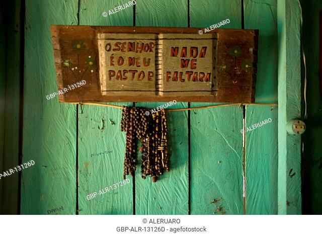 House, Picture, Jaraqui Community, Negro River, Manaus, Amazônia, Amazonas, Brazil