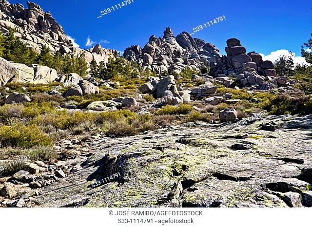 Torres de la Pedriza, La Pedriza scenic area, Cuenca Alta del Manzanares Regional Park, Madrid, Spain