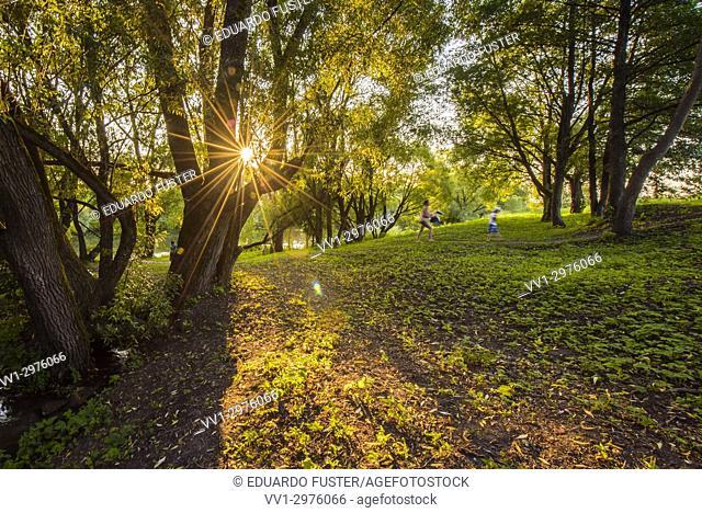 Holy Spring Bely Kolodets, . Zaraysk, Moscow region (Russia)