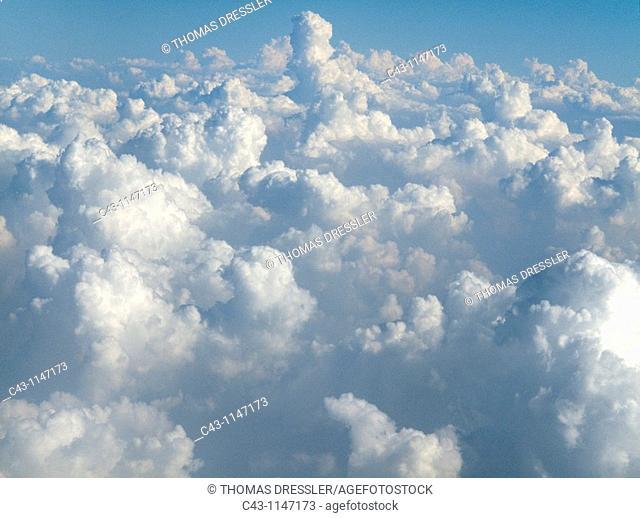 Thailand - Clouds in northern Thailand