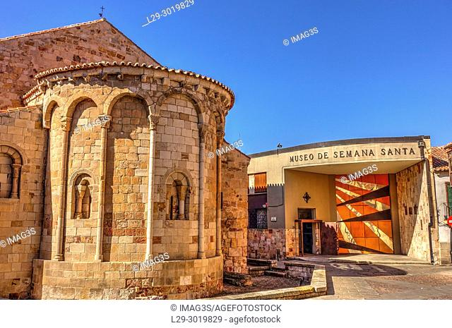 Santa Maria la Nueva church and Semana Santa Museum. Zamora, Spain