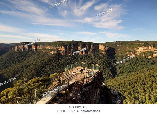 Pulpit Rock lookout in Blackheath is a narrow precipice of rock that juts out over the Grose Valley, from this pinnacle are almost sweeping 360 degree panoramic...