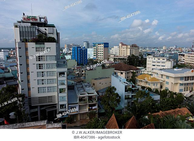 Cityscape, Can Tho, South Vietnam, Vietnam