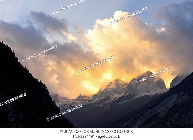 Triglav National Park, Julian Alps, Slovenia, Europe