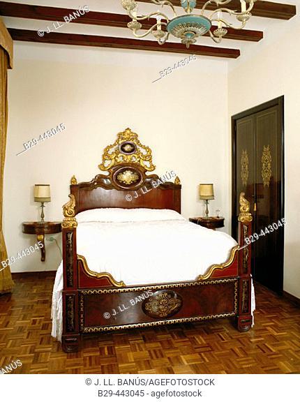 Bedroom, country decor