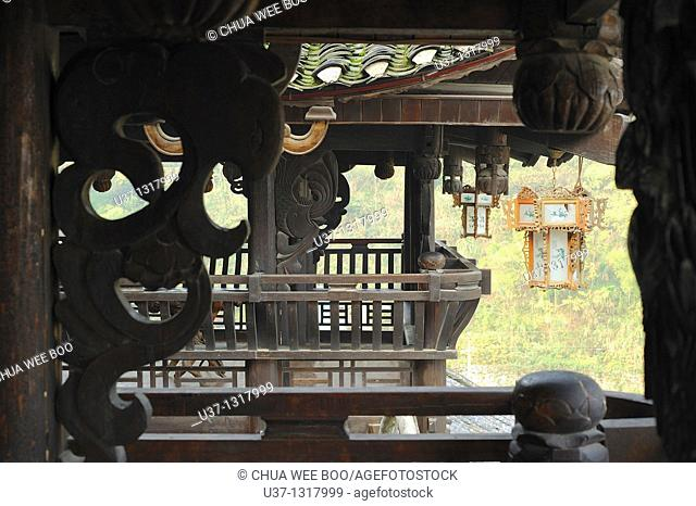 Tujia's ancient house