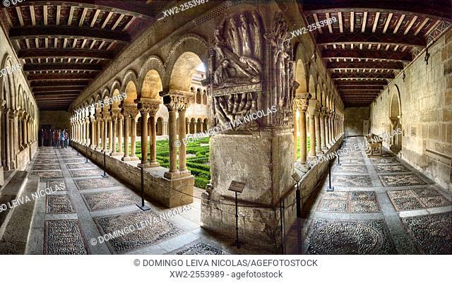 Cloister of Santo Domingo de Silos, Burgos, Spain