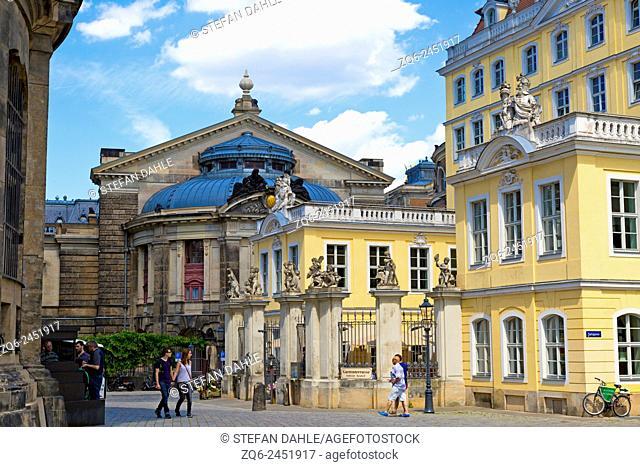 Academy of Arts in Dresden, Saxony, Germany