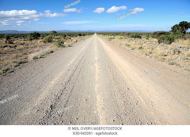 Dirt Road Karoo Desert South Africa