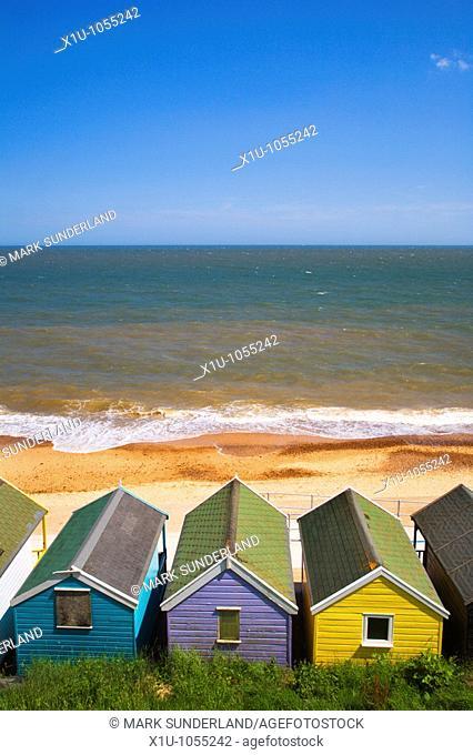 Beach Huts Southwold Suffolk England