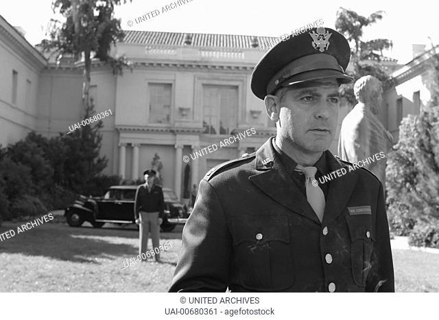 THE GOOD GERMAN The Good German USA 2006 The Good German / Capt. Jake Geismer (GEORGE CLOONEY) Regie: Steven Soderbergh aka