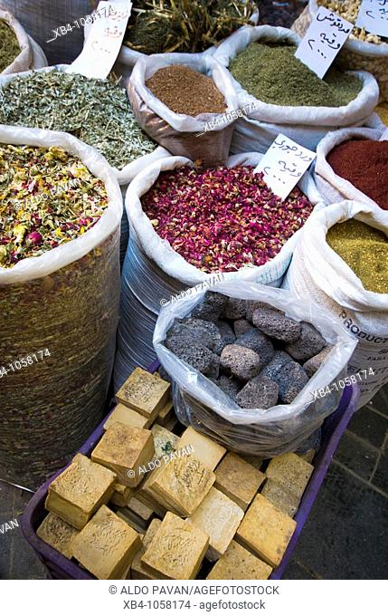 Market souk, Sidon, Lebanon