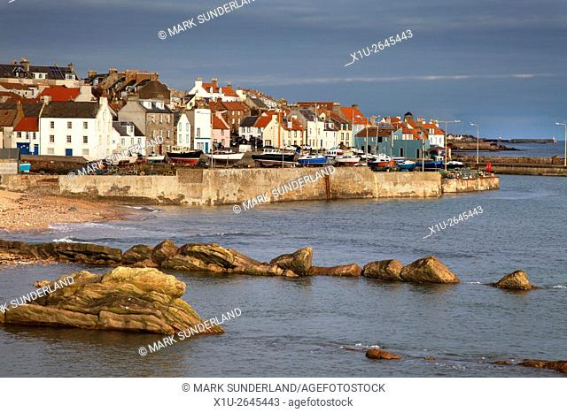St Monans Harbour East Neuk of Fife Scotland
