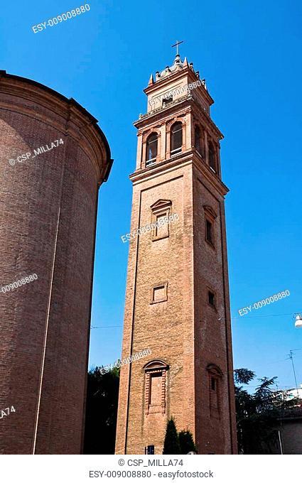 St. Benedetto Belltower Church. Ferrara. Emilia-Romagna. Italy