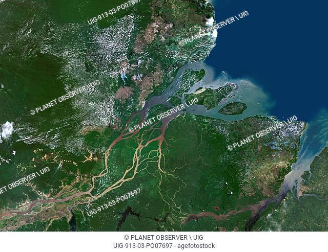 Amazon Delta, Brazil