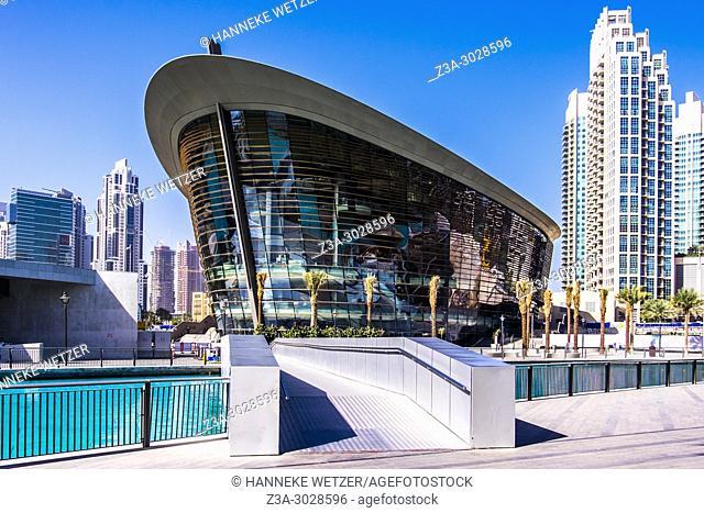 Exterior of the Dubai Opera in Dubai