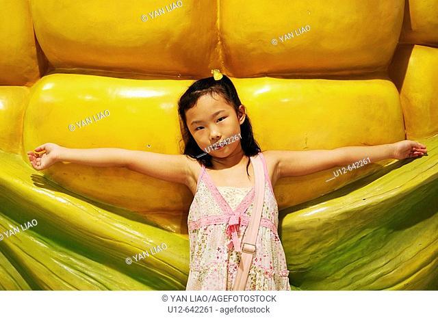 Chinese girl. Hong Kong