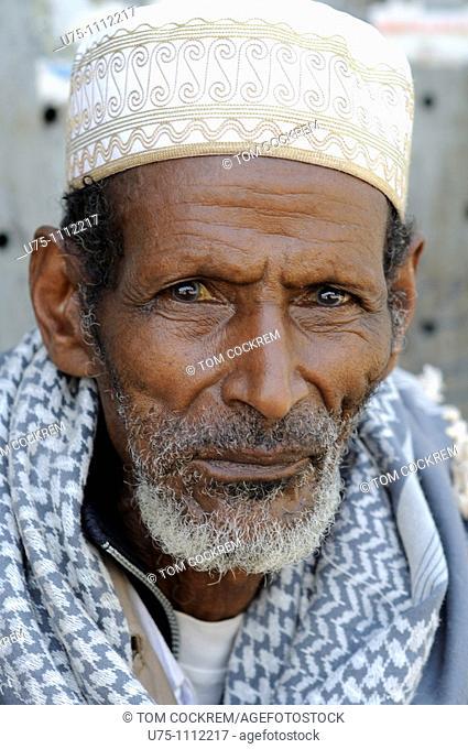 senior man, piazza, addis ababa ethiopia