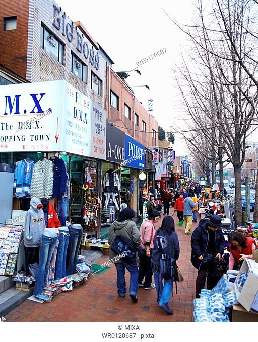 Street in Seoul, Korea