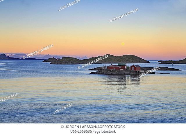 Svolvaer, Lofoten, Norway