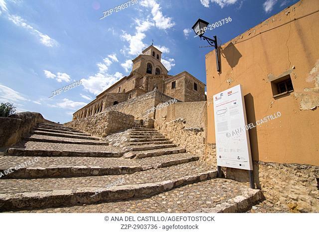 Our Lady of Rivero church in San Esteban de Gormaz village Soria province Castile Leon Spain on June 11, 2017