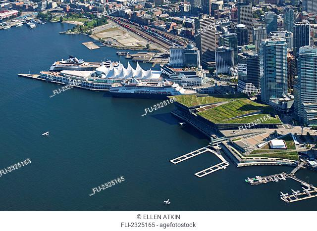Waterfront Convention Centre And Cruise Ship Terminal; Vancouver, British Columbia, Canada