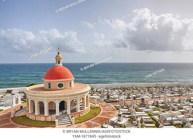 Cementerio de Santa Maria Magdalena de Pazzis, a cemetery in old San Juan, Puerto Rico