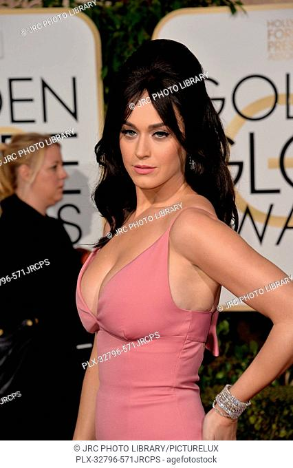 Katy Perry at the 73rd Annual Golden Globe Awards at the Beverly Hilton Hotel. January 10, 2016 Beverly Hills, CA