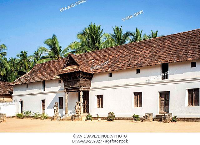 travancore kings ii wooden council chambers, Tamil nadu, India, Asia