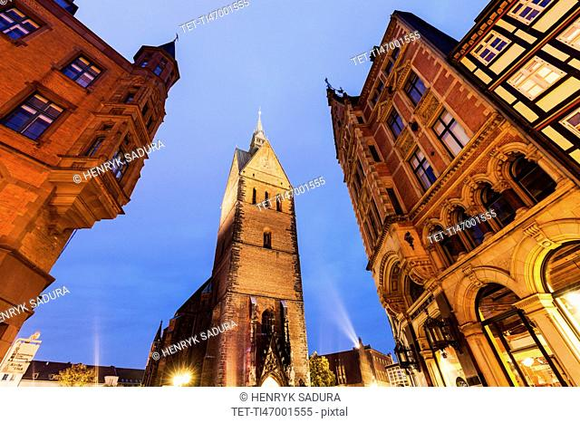 Marktkirche in Hanover Hanover (Hannover), Lower Saxony, Germany