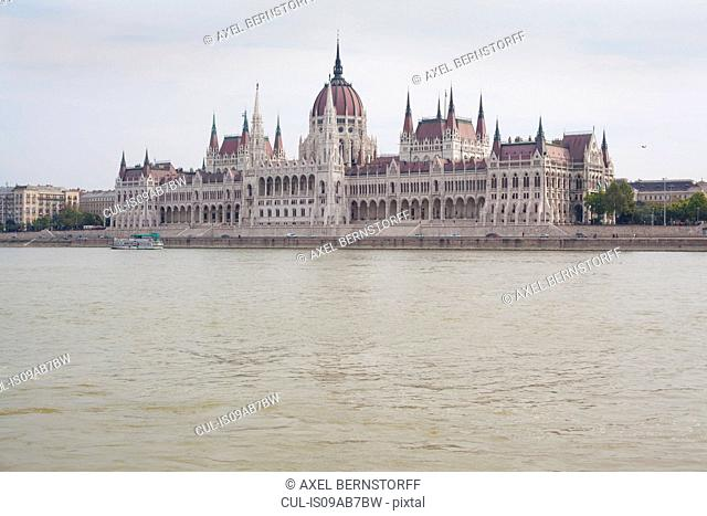 Hungarian parliament building Budapest, Hungary