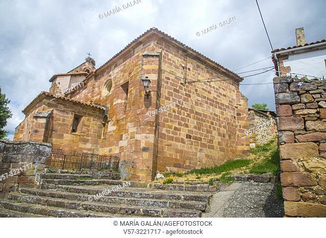 Church. Muda, Palencia province, Castilla Leon, Spain