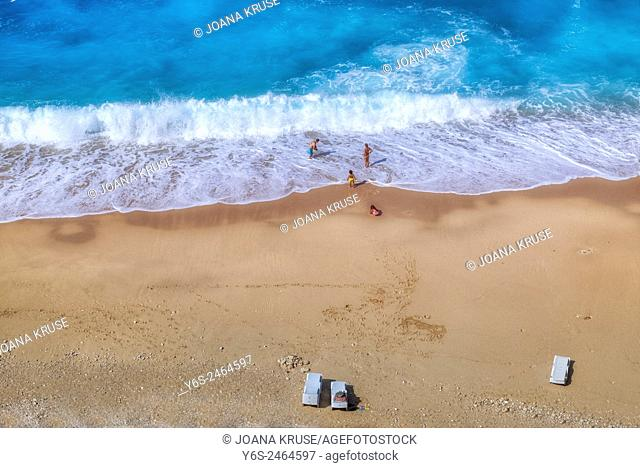Kaputas Beach, Kalkan, Antalya, Turkey
