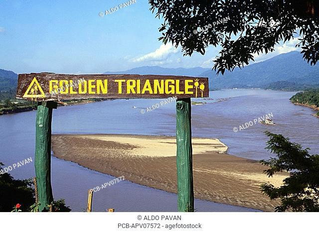 Mekong, Golden Triangle Burma, Laos and Thailand