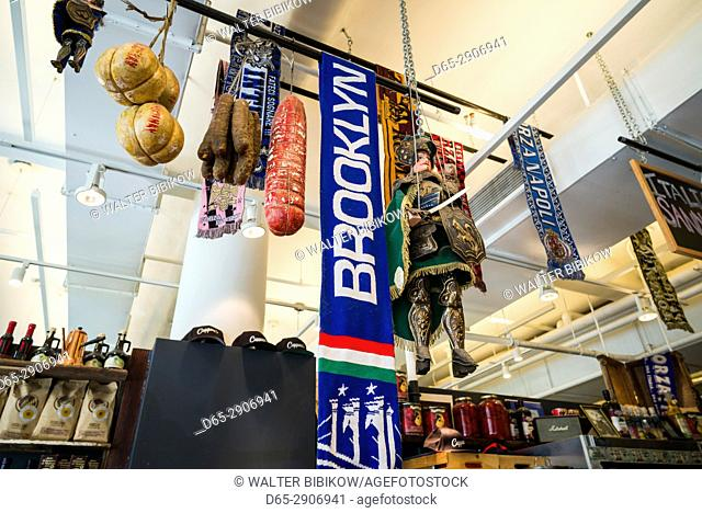 USA, New York, New York City, Lower Manhattan, Chelsea Market, interior