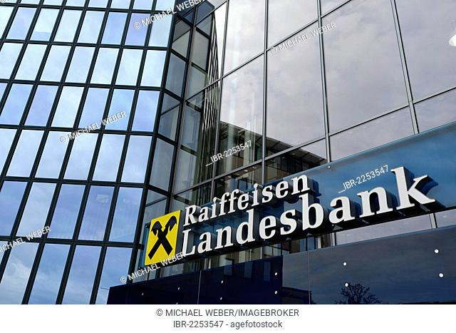 Central Private Bank AG or Raiffeisenlandesbank Upper Austria AG or Raiffeisen Landesbank, Linz, Upper Austria, Austria, Europe, PublicGround