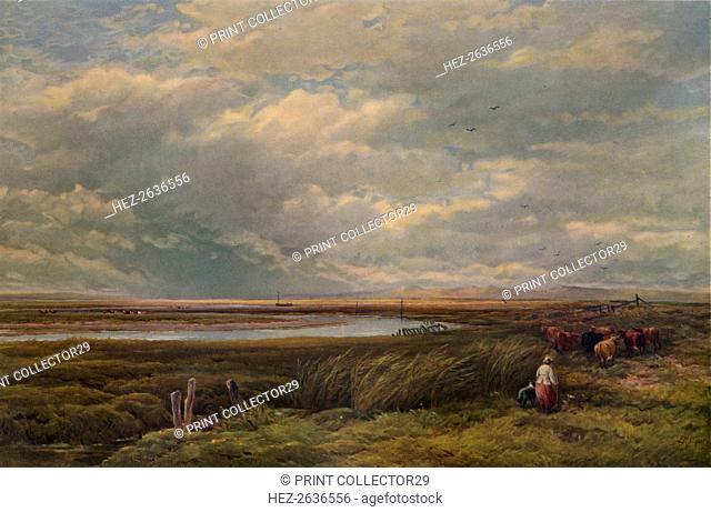 'Near Barmouth', 1883, (1938). Artist: Edmund Morison Wimperis