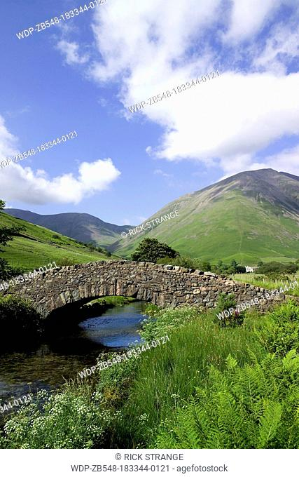 Mosedale Beck, Wast Water, Lake District, Cumbria, UK