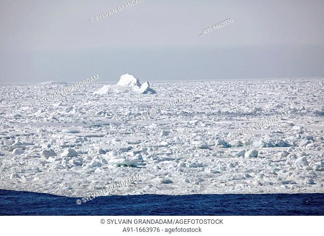 Pack ice in the Weddell Sea, Antarctica