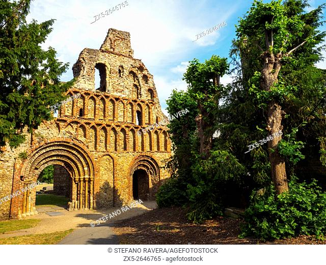 Ruins of St. Botolph's Priory - Colchester, Essex, England