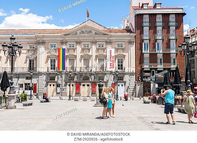 Teatro Español. Plaza de Santa Ana. Madrid. Spain