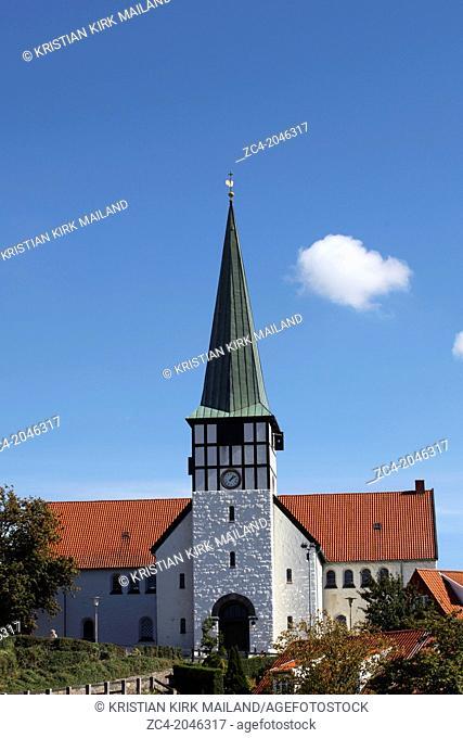 St Nicolas Church, Ronne - Sct. Nicolai Kirke: Skt. Nicolai. Denmark