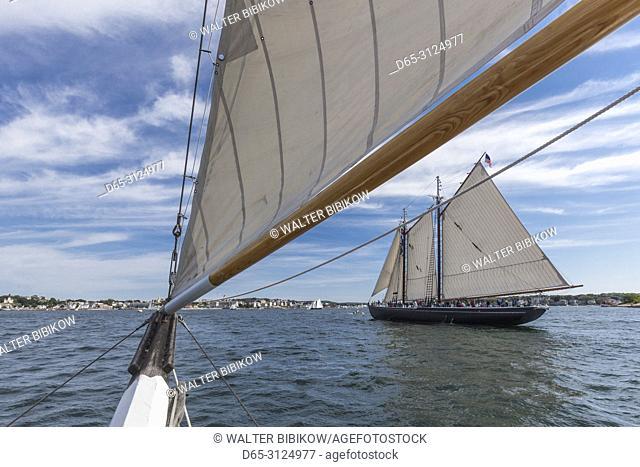 USA, New England, Cape Ann, Massachusetts, Gloucester, Gloucester Schooner Festival, schooners