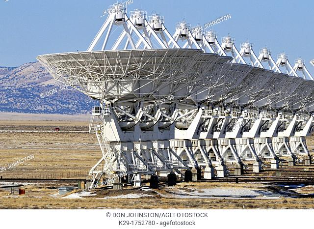 The Very Large Array, Plains of San Agustine, near Magdalena, New Mexico, USA