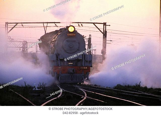 Steam trains. South Africa