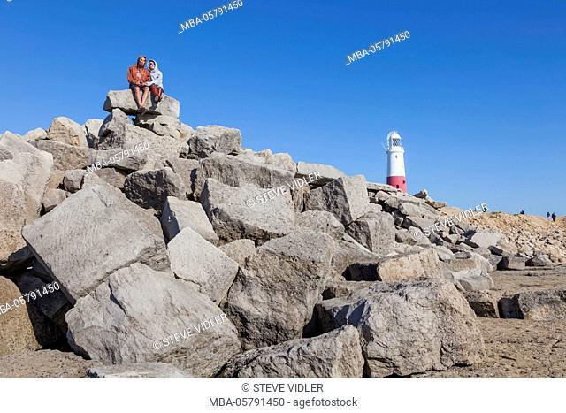 England, Dorset, Portland, Portland Bill Lighthouse
