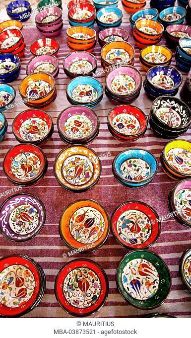 Sales, souvenirs, token, bowls