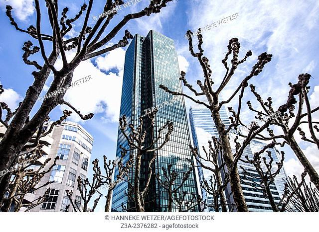Tour CB21, Euler Hermes Headquarters and Meliá Paris La Defense, skyscrapers of La Défense, Europe's largest purpose-built business district, Paris, France